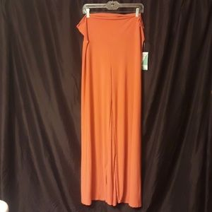 Honey and Lace Pacific Palazzo Pants in Coral New